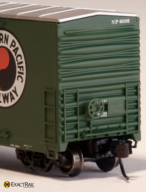 X - Gunderson 5200 Box Car : NP - ExactRail Model Trains - 2