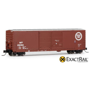 N Scale: Gunderson 5200 Boxcar : MP