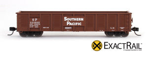 X - N - Gunderson 2420 Gondola : SP - ExactRail Model Trains - 4