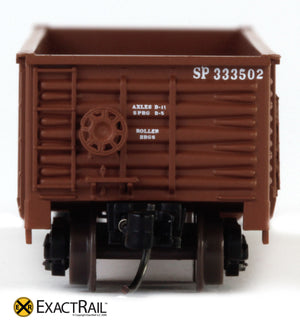 X - N - Gunderson 2420 Gondola : SP - ExactRail Model Trains - 6