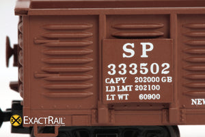 X - N - Gunderson 2420 Gondola : SP - ExactRail Model Trains - 3