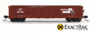 X - N -Gunderson 2420 Gondola : CR - ExactRail Model Trains - 4