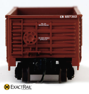 X - N -Gunderson 2420 Gondola : CR - ExactRail Model Trains - 6