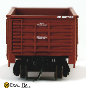 X - N -Gunderson 2420 Gondola : CR - ExactRail Model Trains - 2
