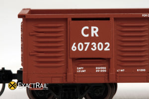 X - N -Gunderson 2420 Gondola : CR - ExactRail Model Trains - 3