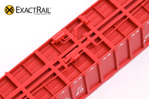 X - N - Thrall 3564 Gondola : CP - ExactRail Model Trains - 5