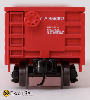 X - N - Thrall 3564 Gondola : CP - ExactRail Model Trains - 6