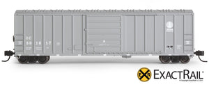 N - Evans 5277 Boxcar : IC - ExactRail Model Trains - 2