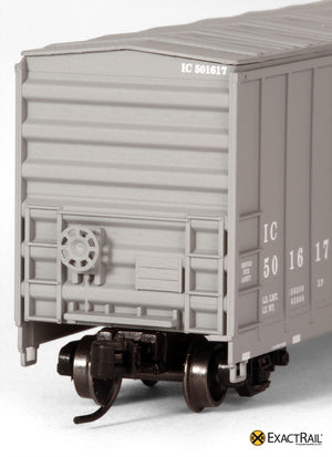 N - Evans 5277 Boxcar : IC - ExactRail Model Trains - 5