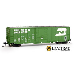 N Scale: Evans-USRE 5277 Boxcar (Early) : BN