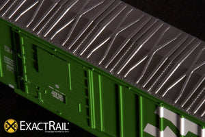 N - Evans-USRE 5277 Boxcar (Early) : BN - ExactRail Model Trains - 3