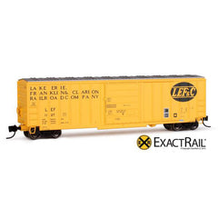 N Scale: Evans-USRE 5277 Boxcar (Early) : LEF