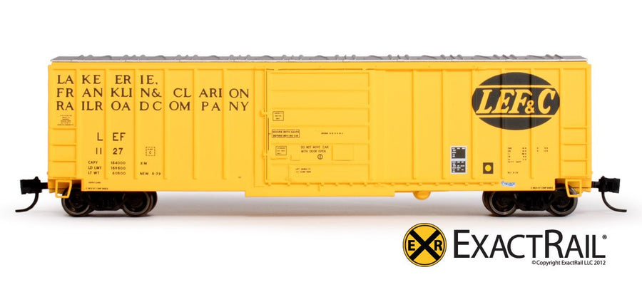 N Scale: Evans-USRE 5277 Boxcar -  Lake Erie, Franklin, and Clarion