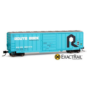 N Scale: Evans-USRE 5277 Boxcar - Rock Island