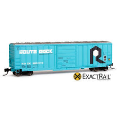 N Scale: Evans-USRE 5277 Boxcar (Early) : RI