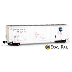 N Scale: Evans-USRE 5277 Boxcar (Early) : LOAM