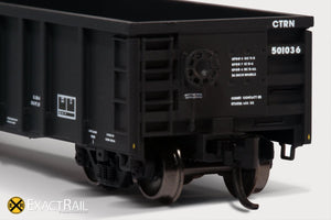 N - Thrall 2743 Gondola : UP/CTRN - ExactRail Model Trains - 4