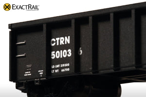 N - Thrall 2743 Gondola : UP/CTRN - ExactRail Model Trains - 5
