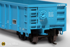 N - Thrall 2743 Gondola : CW - ExactRail Model Trains - 4