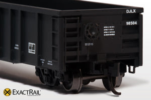 N - Thrall 2743 Gondola : DJLX - ExactRail Model Trains - 4