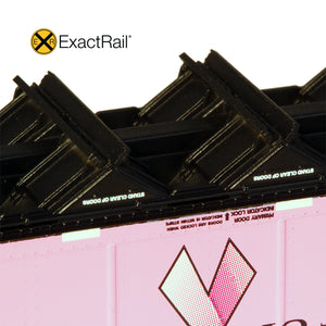 N Scale: Johnstown America AutoFlood II Hopper - UCEX 'On Track for the Cure'