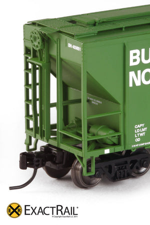 X - N - PS-2CD 4427 Covered Hopper : BN - ExactRail Model Trains - 2