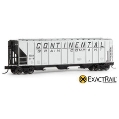 N Scale: PS-2CD 4427 Covered Hopper - Continental