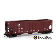 N Scale: PS-2CD 4427 Covered Hopper : ATSF