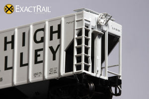 N - PS-2CD 4427 Covered Hopper : LV - ExactRail Model Trains - 5