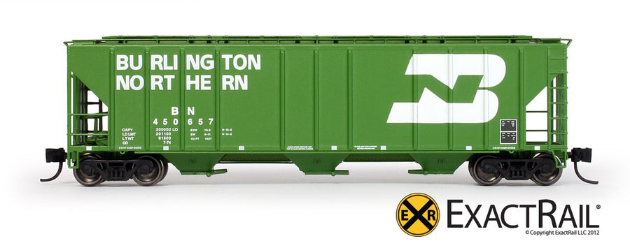 N Scale: PS-2CD 4427 Covered Hopper - BN