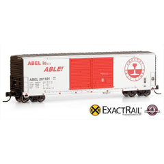 N Scale: Gunderson 5200 Box Car - ABEL