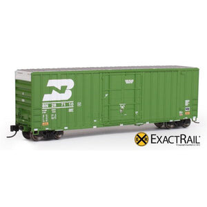 N Scale: Gunderson 6269 High Cube Boxcar - Burlington Northern