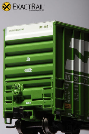 N - Gunderson 6269 High Cube Boxcar : BN - ExactRail Model Trains - 5