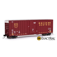 N - Gunderson 6269 High Cube Boxcar : WC - ExactRail Model Trains - 1