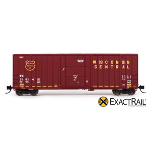 N - Gunderson 6269 High Cube Boxcar : WC - ExactRail Model Trains - 2