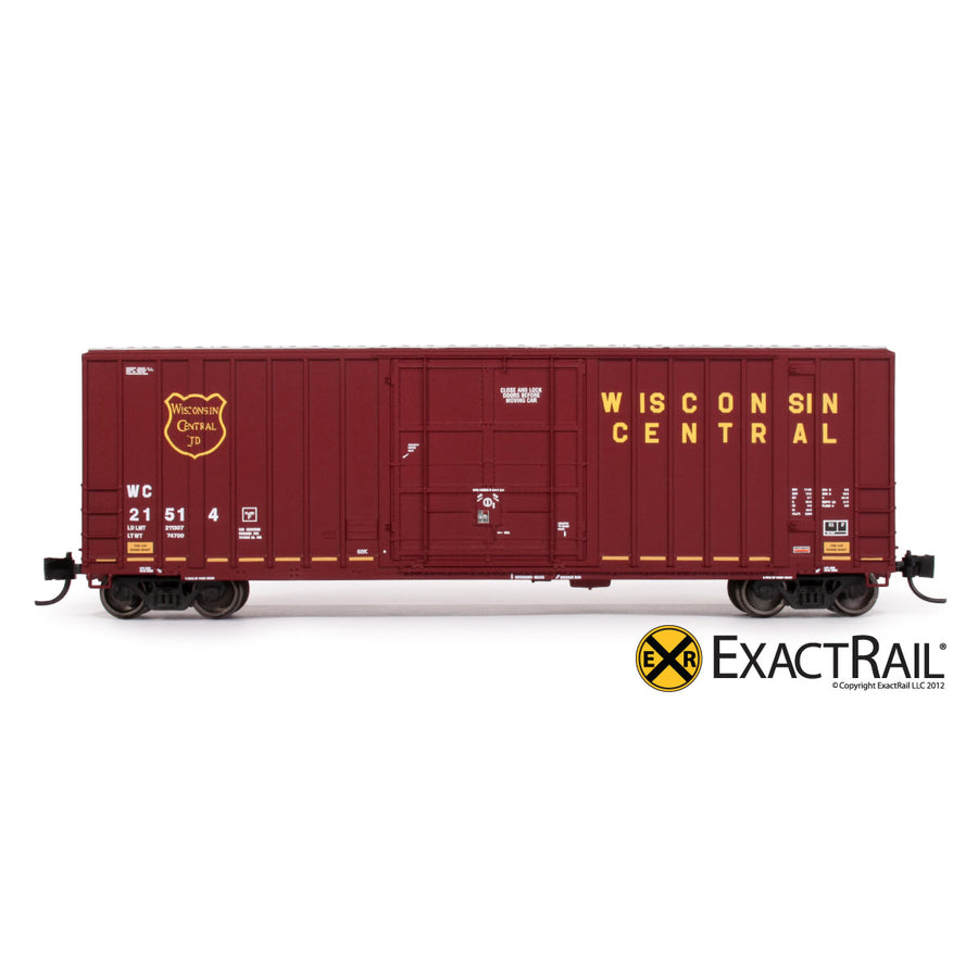 N Scale: Gunderson 6269 High Cube Boxcar - WC