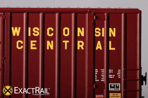 N - Gunderson 6269 High Cube Boxcar : WC - ExactRail Model Trains - 6