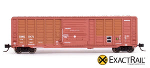 N - PS 50' Waffle Boxcar : DME - ExactRail Model Trains - 2