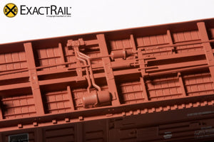 N - PS 50' Waffle Boxcar : DME - ExactRail Model Trains - 4