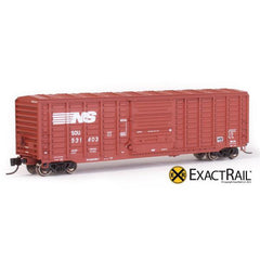 N Scale: PS 50' Waffle Boxcar - NS