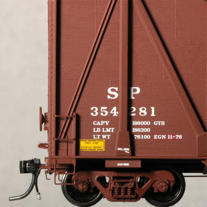 HO Scale: Gunderson 7466 Wood Chip Gondola - Southern Pacific '1976 Shop Date'