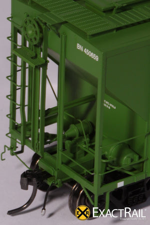 PS-2CD 4427 Covered Hopper : BN - ExactRail Model Trains - 4