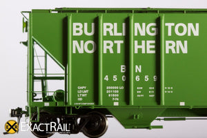 PS-2CD 4427 Covered Hopper : BN - ExactRail Model Trains - 3
