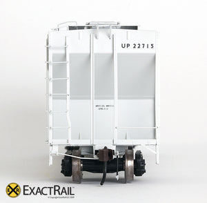 X - PS-2CD 4427 Covered Hopper : UP - ExactRail Model Trains - 6