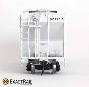 X - PS-2CD 4427 Covered Hopper : UP - ExactRail Model Trains - 7