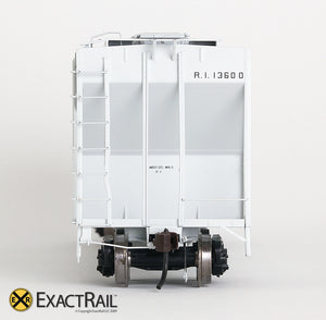 X - PS-2CD 4427 Covered Hopper : RI - ExactRail Model Trains - 5