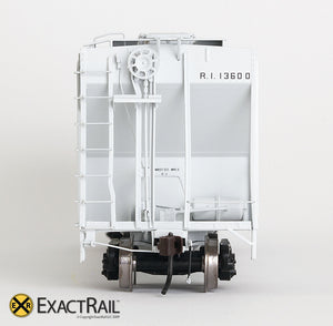 X - PS-2CD 4427 Covered Hopper : RI - ExactRail Model Trains - 6
