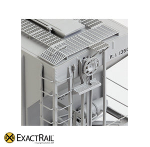 X - PS-2CD 4427 Covered Hopper : RI - ExactRail Model Trains - 7