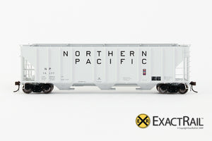 X - PS-2CD 4427 Covered Hopper : NP - ExactRail Model Trains - 2