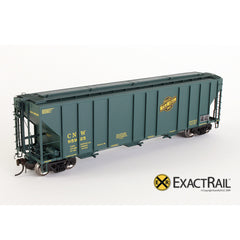 X - PS-2CD 4427 Covered Hopper : CNW - ExactRail Model Trains - 1